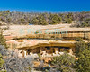 "Mesa Verde, Colorado, USA.  Native American mud brick pueblo structures occupy the ""Spruce Tree House"" cave at Mesa Verde National Park.  The cliff dwellings at Mesa Verde were built by ancestral puebloans in the period A.D. 600 to A.D. 1300. © Rick Collier<br /> <br /> <br /> <br /> <br /> <br /> <br /> <br /> US USA Colorado Mesa Verde cliff dwelling pueblo Spruce Tree House Native American village town structure cave woods forest cave dwelling ancestral puebloan Anasazi"