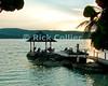 Amanoka Villa, Discovery Bay, Saint Ann Parish, Jamaica.  Guests enjoy the evening breeze in the gazebo at sunset.  © Rick Collier<br /> <br /> <br /> <br /> <br /> <br /> Jamaica Discovery Bay Dry Harbor Bay Amanoka Villa tropical island paradise beach summer fun relaxation gazebo sunset breeze