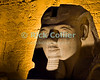 "Luxor, Egypt -- The head from a statue of Ramses II is displayed and illuminated outside Luxor Temple.  Luxor temple was built principally by two pharoahs, Ramses II and Amenhotep III, and was the companion temple to Karnak for worship of the Theban triad of gods, Amun, his wife Mut, and their son Khonsu. While Karnak was the home of Amun, his wife Mut and son Khonsu resided at Luxor.   © Rick Collier / RickCollier.com.<br /> <br /> <br /> <br /> <br /> <br /> travel; vacation; tour; tourism; tourist; destination; Egypt; Luxor; temple; hieroglyph; hieroglyphic; ""ancient Egypt""; archeology; archeological; ruin; ""Luxor Temple""; Amenhotep; ""Ramses II""; statue"