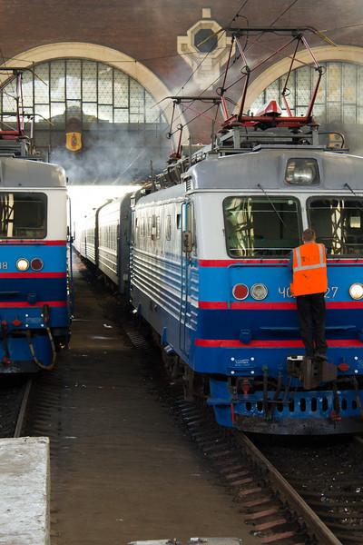 railway staitaion Kazansky Moscow