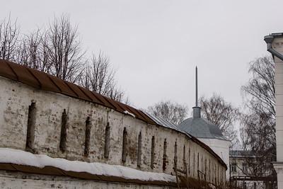 Wall in Vladimir