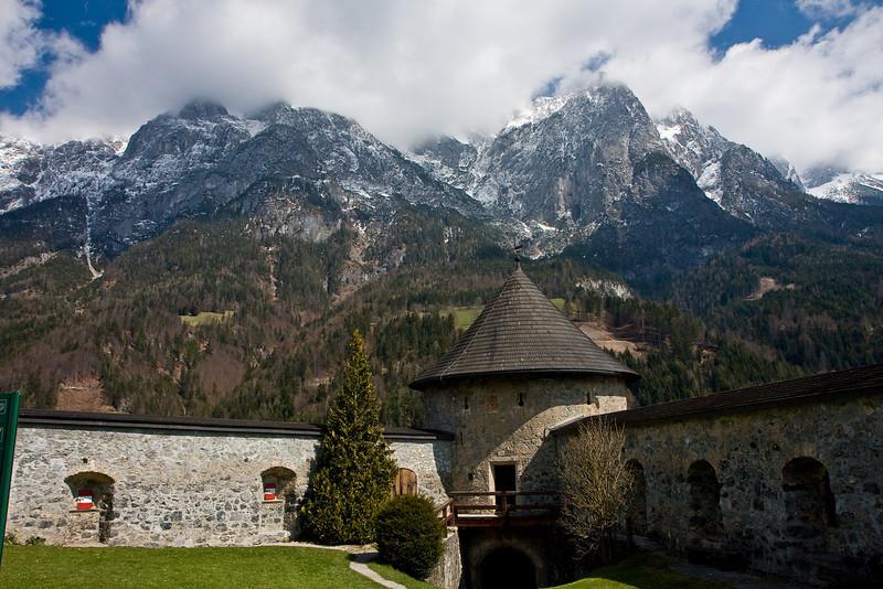 Festung Hohenwerfen und Tennengebirge