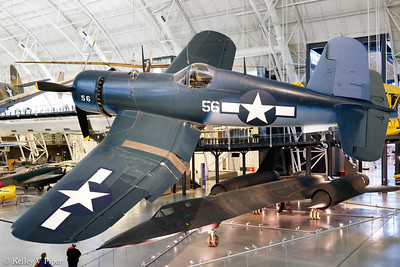 Vought F4U-1D Corsair and Lockheed SR-71 Blackbird