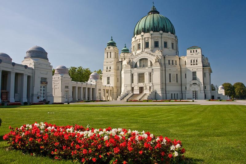 Karl-Borromäus-Kirche am Wiener Zentralfriedhof
