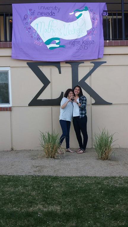 Sigma Kappa Mother's Weekend
