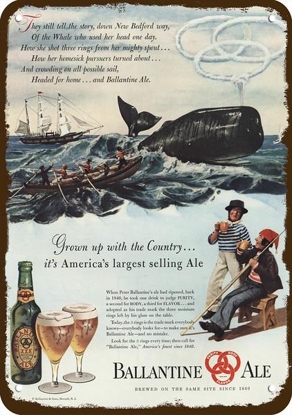 """Dow Beer Ale Ad Vintage Retro Metal Sign 8/"""" x 12/"""""""