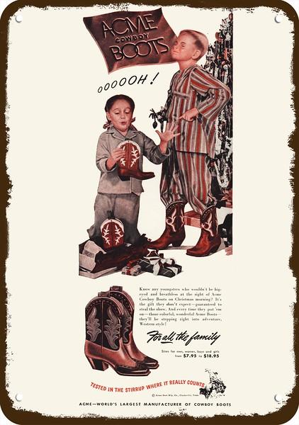 1948 TEXTRON Vintage Look REPLICA METAL SIGN TOMAHAWK COWBOY /& INDIAN GUN
