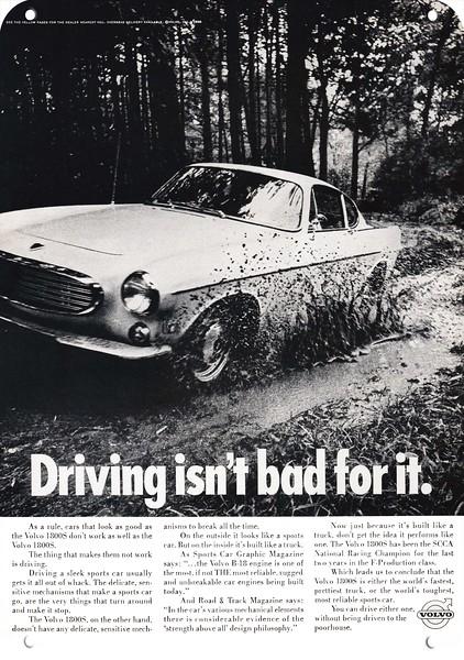 1964 PORSCHE 356 Sports Car Vintage Look REPLICA METAL SIGN