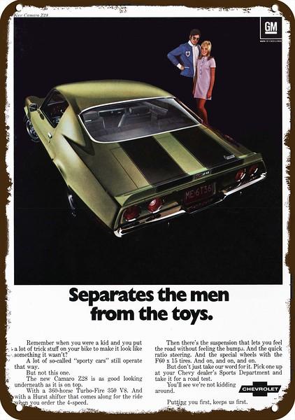 1970 CHEVROLET CHEVY CAMARO Z28 Sports Car Vintage Look