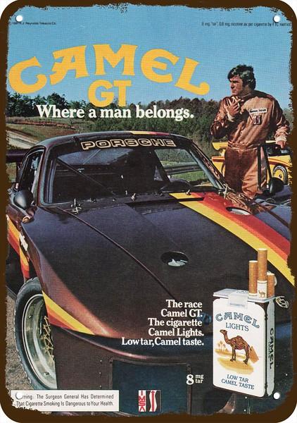 1968 PORSCHE RACE CAR at LeMANS /& TARGA FLORIO Vintage Look REPLICA METAL SIGN