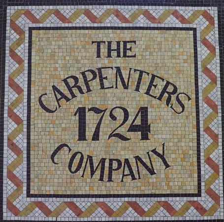 Carpenter's Hall, Philadelphia- floor mosaic