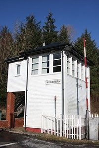 Kilkerran on 12 February 2011  Signalbox