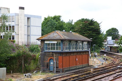 Lewes signal box, expected to close between 28th - 2 Dec 19 where signalling control moves to Three Bridges 1