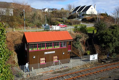 Kyle signal box on the 1st April 2018