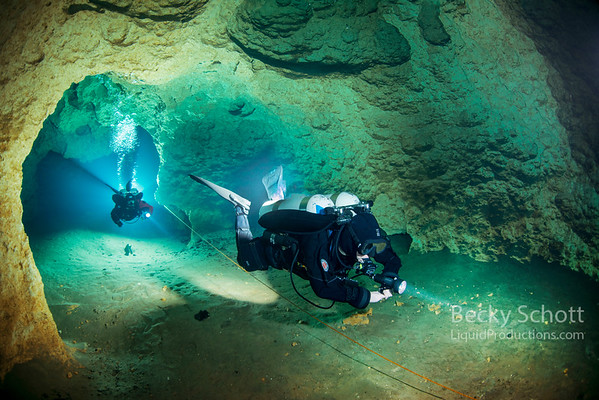 Cave Diving Florida Peacock Springs State Park