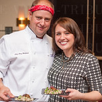 Chef Clay and Laura Wallace from Cafe Lou Lou.