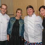 Chef Jonathan Schwartz, Emily McGee, Chef Nick Platt and Veronica Stivers.