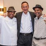 Chef Allen Hubbard, Jim Davis and Sous Chef Wayne Blakey, Sr.