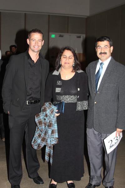 Lee Evans, Aparna & Sameer Wagle