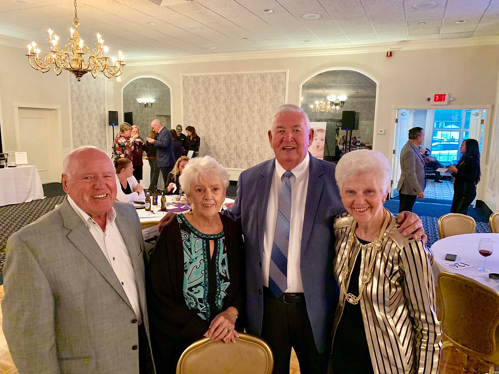 . From left, Ed and Carole Daly of Lowell, and Bill and Beverly Cullen of Chelmsford