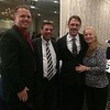 Andrew and Robert Orr-Skirvin of Lowell, Tim Grover of Dracut and MaryBeth Murphy of Haverhill
