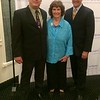 Honorary citizen of the year award Janet Lambert-Moore with sons Chauncey and Joey Moore, all of Lowell