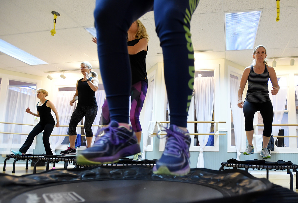 . Julia Franklin\'s Signature Class at Begin Fitness in Niwot. For more photos and a video, go to dailycamera.com.  Cliff Grassmick  Staff Photographer October 5, 2017