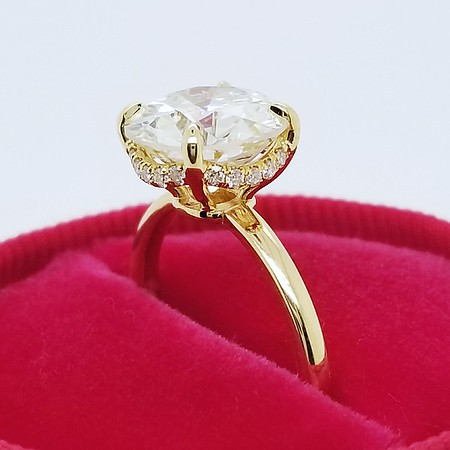 """The """"Fina"""" Solitaire - Featuring a 2.93ct Old European Cut Diamond"""