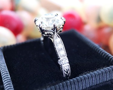 "The ""Olivia"" Solitaire - Featuring a 1.52ct AGS L VS2 OEC Diamond"