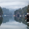 Winter Reflections on Lake Rabun