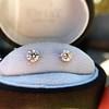 1.50ctw Round Brilliant Diamond Stud Earrings, by KWIAT 3