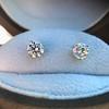 1.50ctw Round Brilliant Diamond Stud Earrings, by KWIAT 10