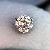 1.50ctw Round Brilliant Diamond Stud Earrings, by KWIAT 5