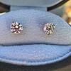 1.50ctw Round Brilliant Diamond Stud Earrings, by KWIAT 4