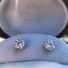 1.50ctw Round Brilliant Diamond Stud Earrings, by KWIAT 14