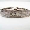 Art Deco Diamond Watch by JE Caldwell, Platinum 16