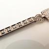 Art Deco Diamond Watch by JE Caldwell, Platinum 12