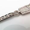 Art Deco Diamond Watch by JE Caldwell, Platinum 13