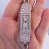 Art Deco Diamond Watch by JE Caldwell, Platinum 3