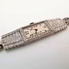 Art Deco Diamond Watch by JE Caldwell, Platinum 11