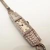 Art Deco Diamond Watch by JE Caldwell, Platinum 18