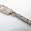 Art Deco Diamond Watch by JE Caldwell, Platinum 5