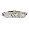 Art Deco Diamond Watch by JE Caldwell, Platinum 27