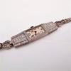 Art Deco Diamond Watch by JE Caldwell, Platinum 7