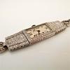 Art Deco Diamond Watch by JE Caldwell, Platinum 8