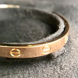 Cartier Love Cuff, Rose Gold