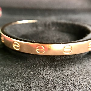 Cartier Love Cuff, Rose Gold