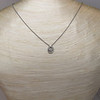Cathy Waterman Oval Frame Platinum and Diamond Pendant 6