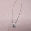 Cathy Waterman Oval Frame Platinum and Diamond Pendant 9