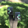 Tiffany & Co. Bubble Diamond and Tsavorite Earrings 1